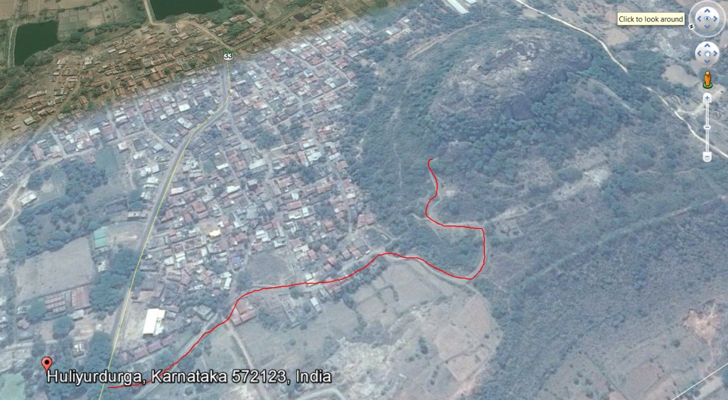 Huliyurdurga-route