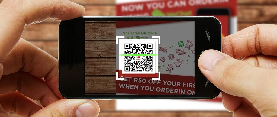 Wechat - QR code scanning