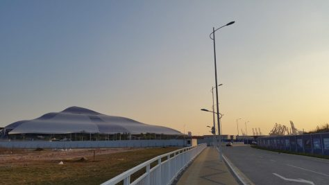 The new prince bay port at Shenzhen
